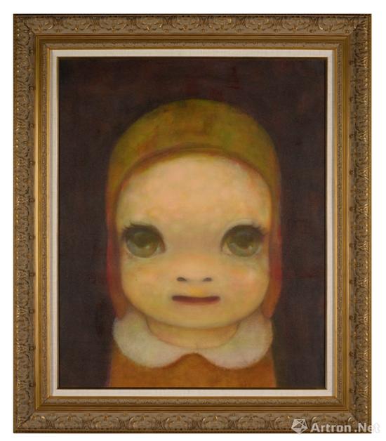 奈良美智《艾美莉亚·艾尔哈特肖像》