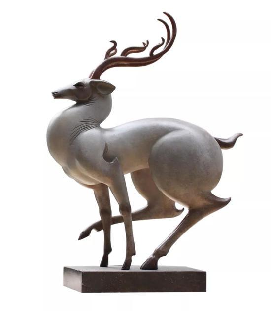 《仙踪》35x26x11cm青铜2016年