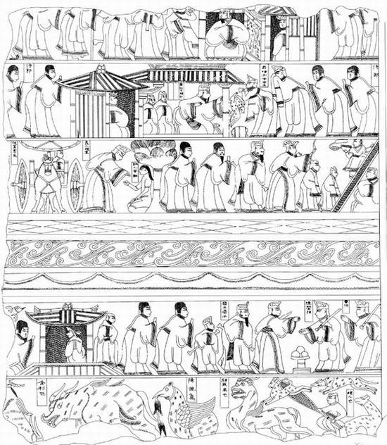 曹操墓画像石里的故事都是你不知道的故事