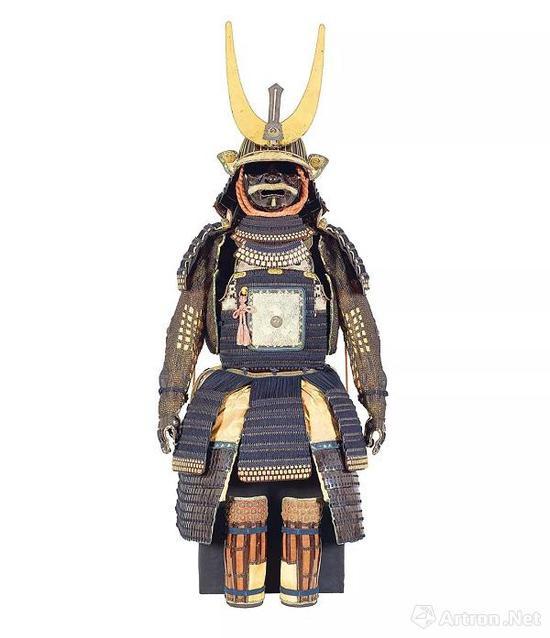 武士盔甲套装,兵库县,18世纪