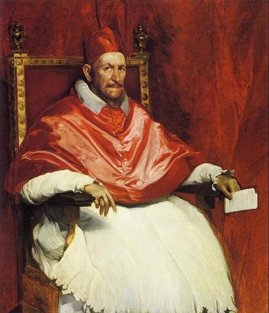 委拉斯凯兹 《英诺森十世肖像》