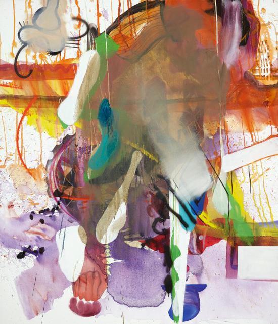 阿尔伯特·尔莱恩《无题》布面油画 180.3x150.1cm 2005年作