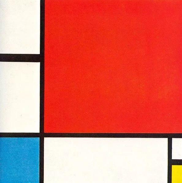 《红黄蓝构成》(1930)