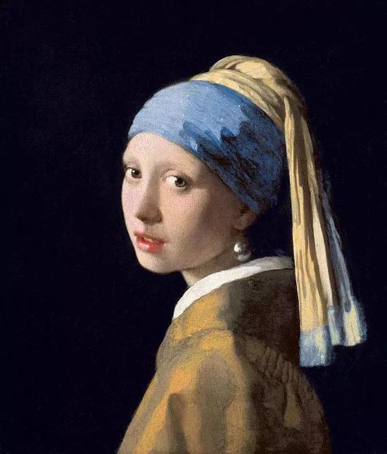 维米尔 《戴珍珠耳环的少女》