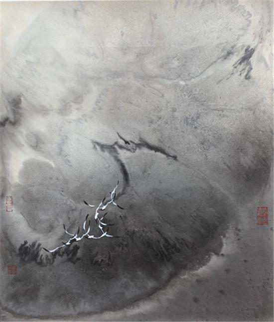 姜云宗 大海交响曲85×70cm