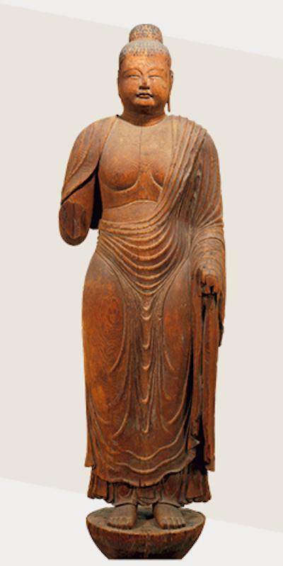 重要文化遗产 传药师如来像 奈良时代(8世纪)奈良唐招提寺藏