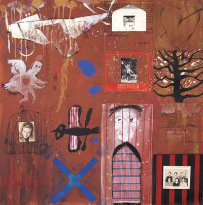 叶永青1994年作品。