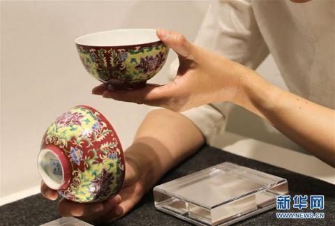 多件中国工艺精品在佳士得香港春拍