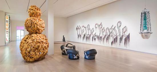 Installation view, Pérez Art Museum Miami, 2015