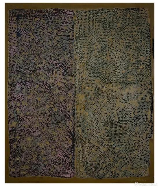 翁纪军,集聚No.3,2017年,60x50cm