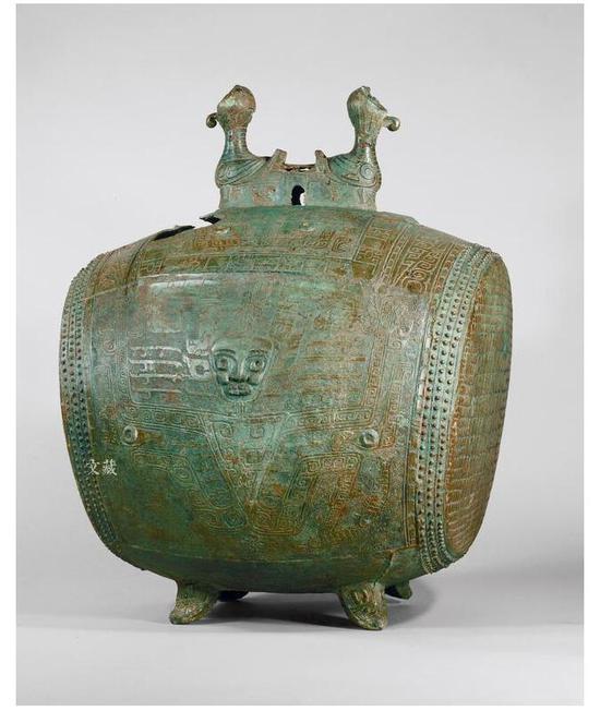 夔神鼓,商代后期,高82.0厘米,重71.1千克