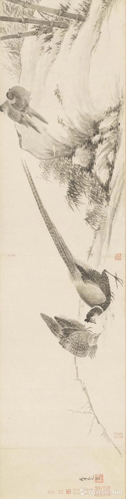 法常 写生卷 台北故宫收藏