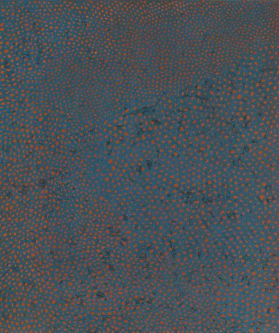 草间弥生(日本,1929年生)《No。 F。 C。 H。》油彩 画布,76.2 x 66 cm,1960年作,估价:港元 16,000,000 - 26,000,000