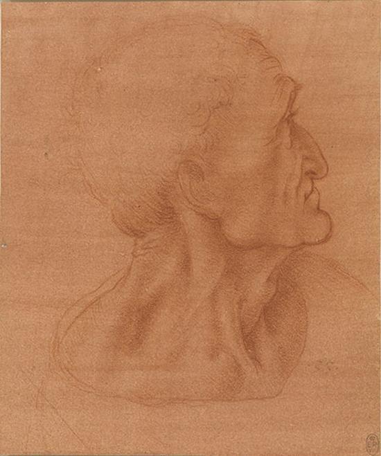 达·芬奇,犹大头像,1494