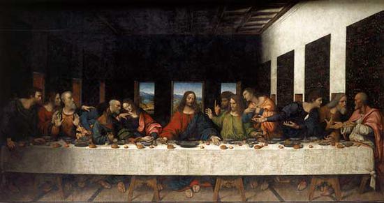 达·芬奇,最后的晚餐
