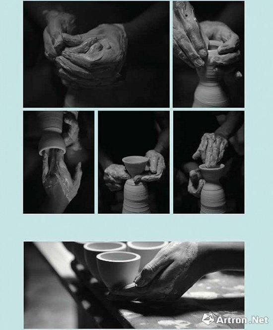 拉胚成型,瓷器塑形的重要步骤