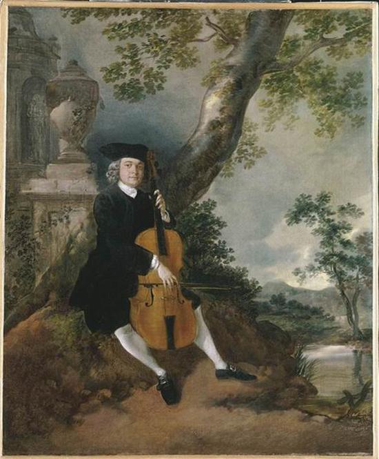 托马斯·庚斯博罗作品, 布面油画 ,约1750-1752 年,1984 年在泰特美术馆之友、国家遗产纪念基金以及国家艺术收藏基金的帮助下购入