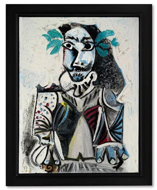 巴布羅 · 畢加索(Pablo Picasso)《成功者》1969年 以6,100萬港元成交