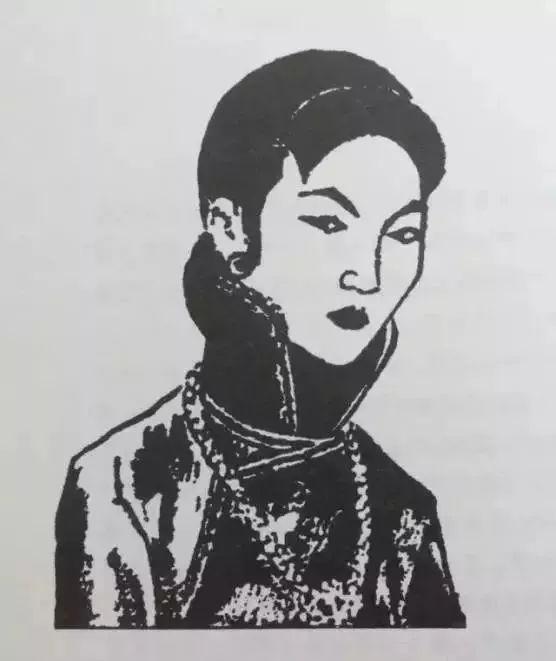 张爱玲《金锁记》插图——曹七巧