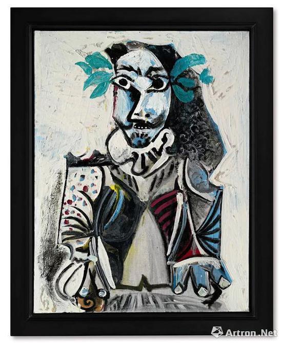 巴布罗·毕加索《胜利者》