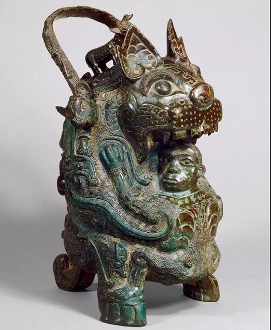 虎卣 商代后期泉屋博古馆藏