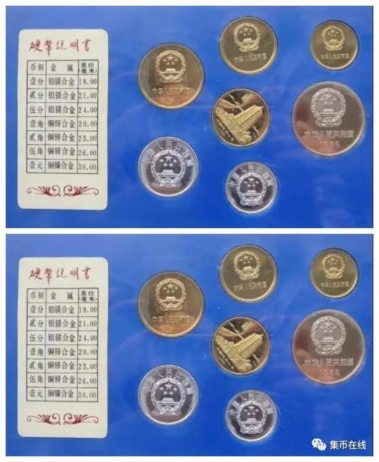 1986年精制长城套币