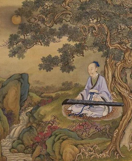 汉人打扮的雍正帝