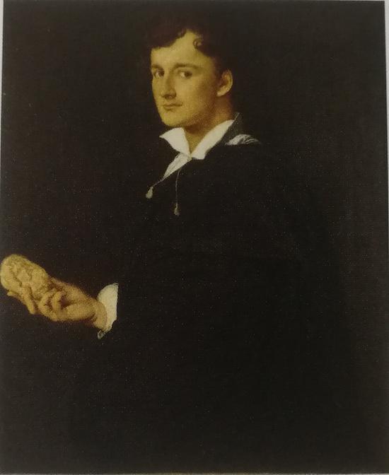 J-A-D·安格尔(1780-1867)《巴托利尼肖像》,1805 年,蒙托邦,安格尔博物馆。