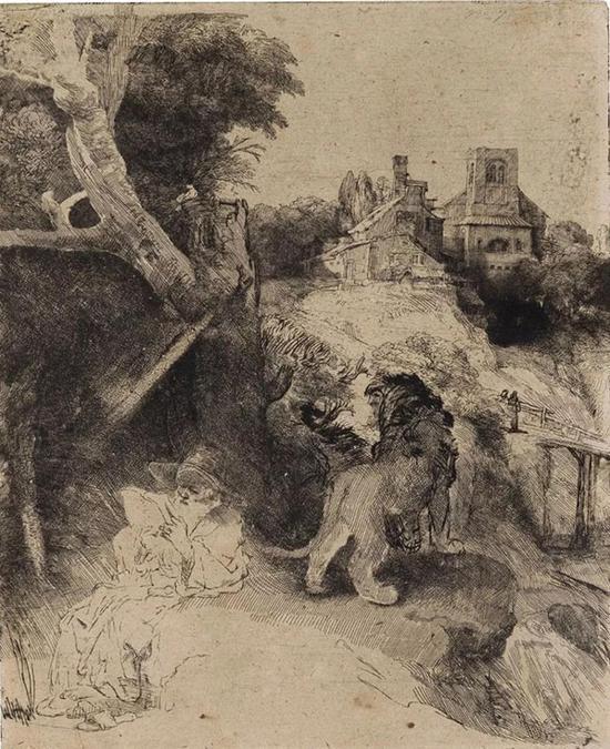 拍品编号148伦勃朗(Rembrandt Harmensz。 Van Rijn,1606-1669)