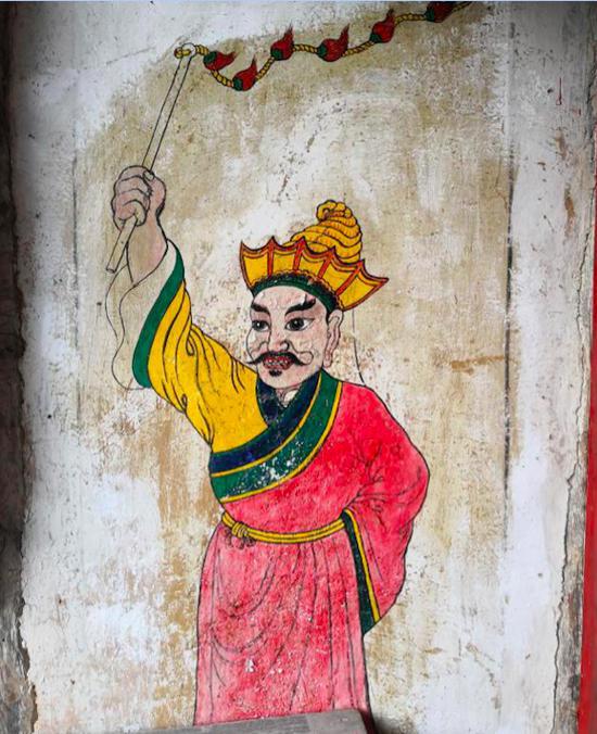 图11 二郎崖背白马庙壁画