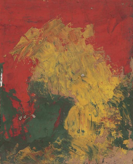 《无题61》,李青萍,油画
