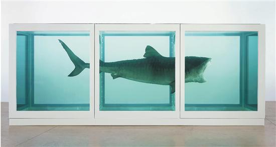 达明安·赫斯特(Damien Hirst) 生者对死者无动于衷 装置艺术