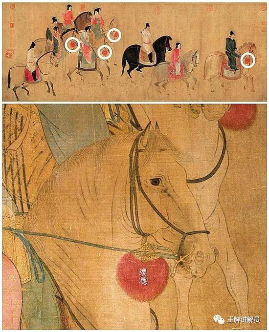 唐代马具的另一部分集中在马背上,核心是马鞍: