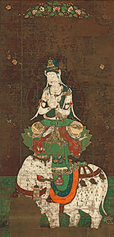 国宝 普贤菩萨像 平安时代(12世纪)东京国立博物馆藏