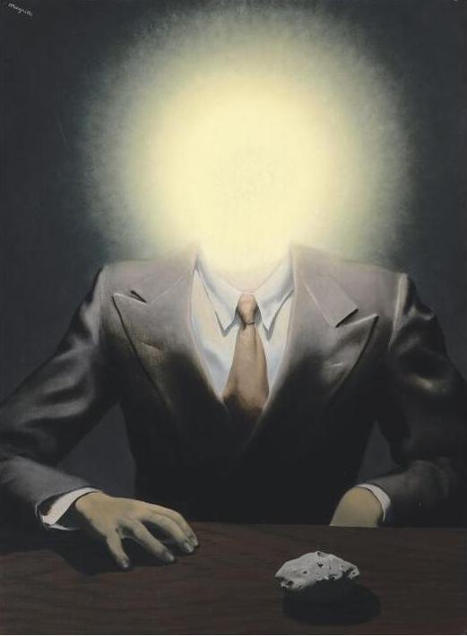 雷内·马格里特(René Magritte)《快乐原则》,1937年作已售26,830,500美元