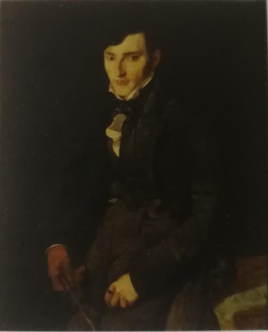 J-A-D·安格尔(1780-1867)《J-F·吉里贝尔肖像》,1804 年,蒙托邦,安格尔博物馆。