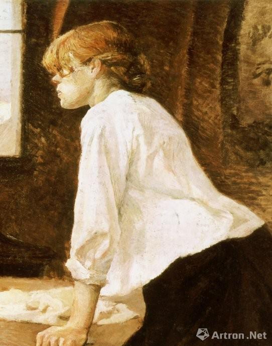 亨利?图卢兹?洛特雷克(1864~1901年)《浣衣女》(2005年纽约佳士得1.609亿美元)