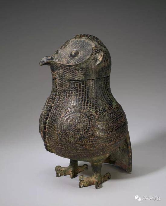 ▲ 商代晚期,殷墟时期,明尼阿波利斯博物馆藏