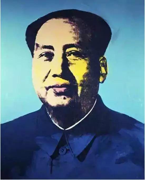 ▲刘銮雄以约1.1亿(1737.6万美元)买下《毛泽东肖像》