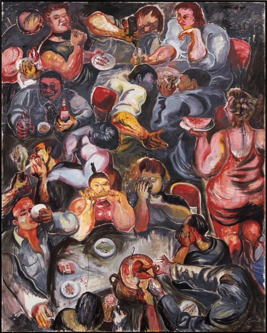 张恩利 《盛宴4号》,2000,成交价 :4,880,000 港元