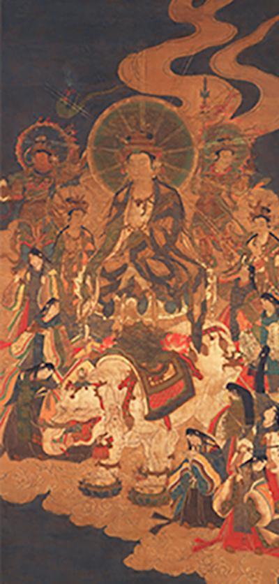 重要文化遗产 普贤十罗刹女像 镰仓时代(13世纪)奈良国立博物馆藏