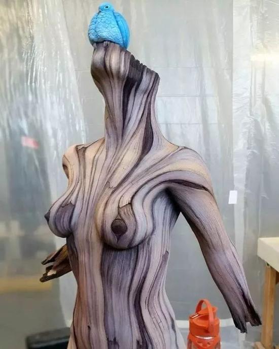 这竟然也是木雕?看得人都兴奋了!