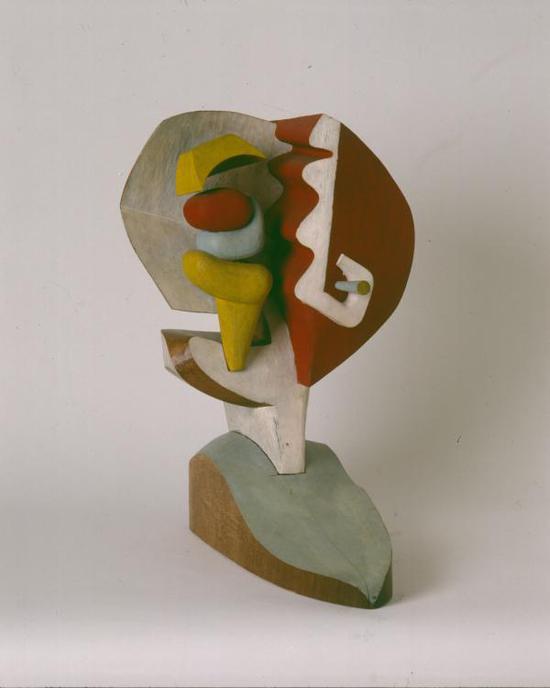 巴汝奇 红木雕塑 1964年