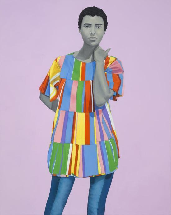 埃米·谢拉尔德的《无题》(Untitled),2017。图片:致谢艺术家及芝加哥Monique Meloche Gallery