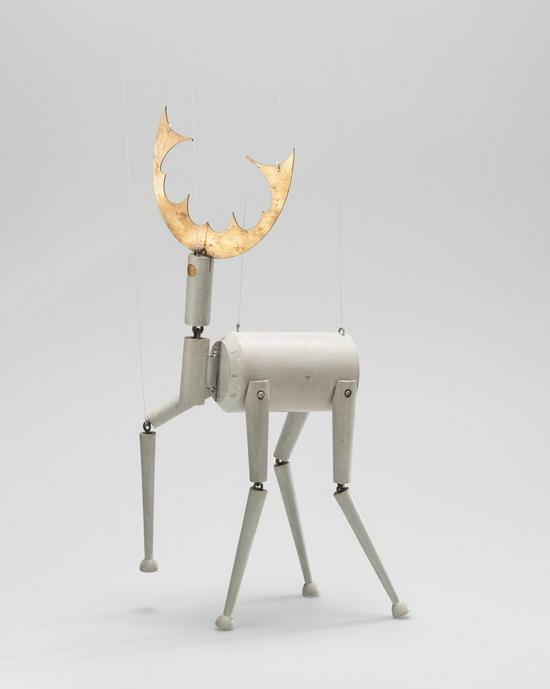苏菲·陶柏-阿尔普,《Stag (marionette for King Stag)》1918年