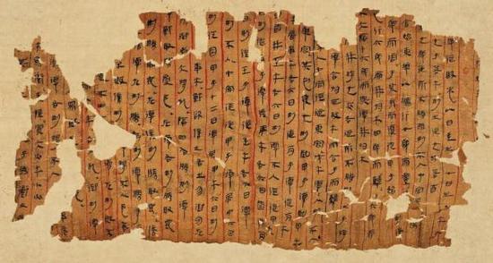 包山楚简到马王堆帛书千年简帛遗墨