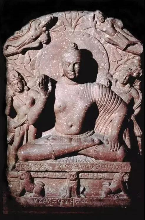 佛坐像,印度Katra地区出土
