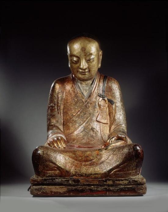 章公祖师像。(图片来源:荷兰藏家奥斯卡·范奥维利姆提供)