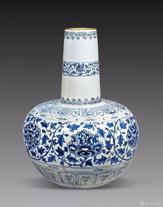 以元青花瓷为范本的越南青花欣赏