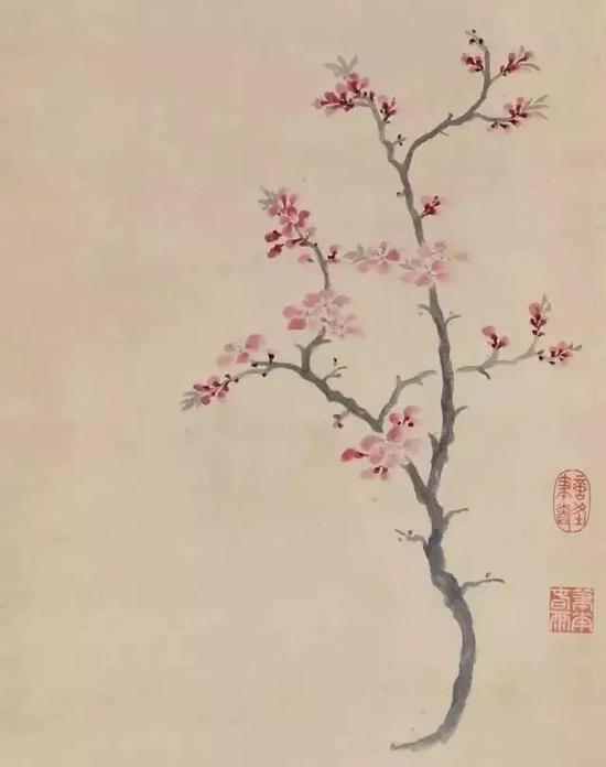 《杏花图》